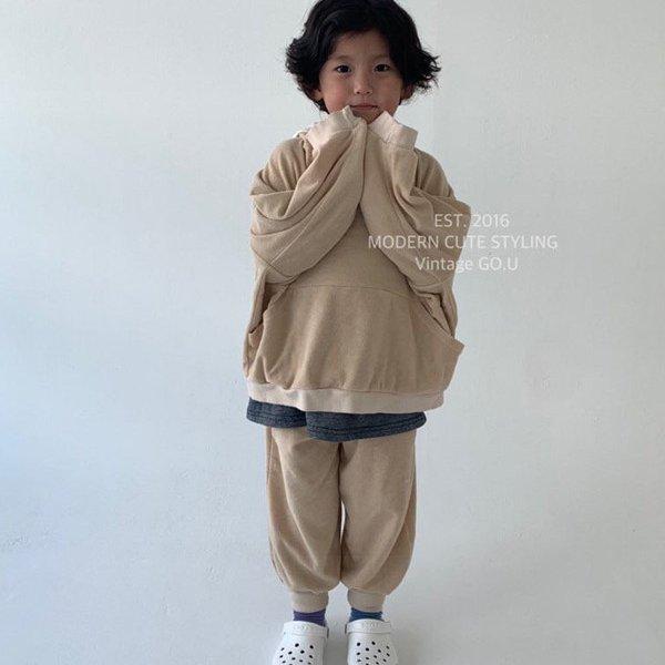 고유KC 테리후드맨투맨*XS~엄마*