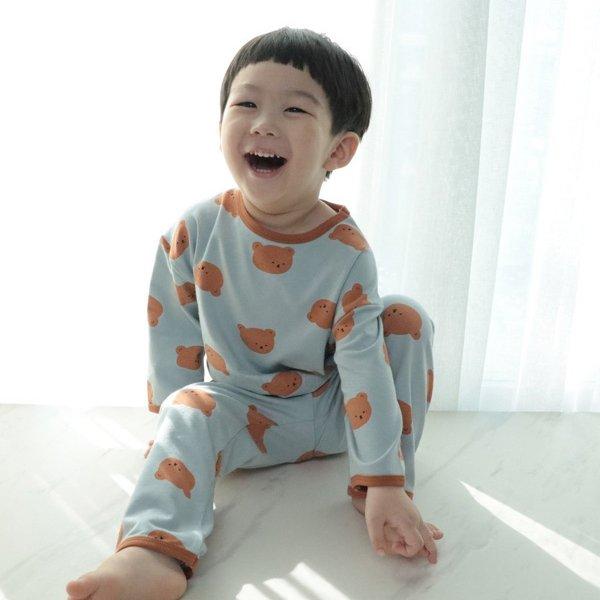 라임앤블루KC 봄큰곰돌이실내복*XS~JL*