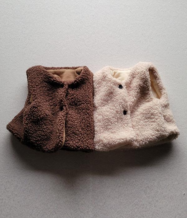 비비드아이 (세일)겨울부클조끼