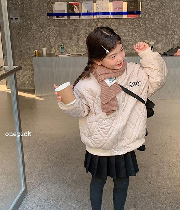 원픽 마름모자켓