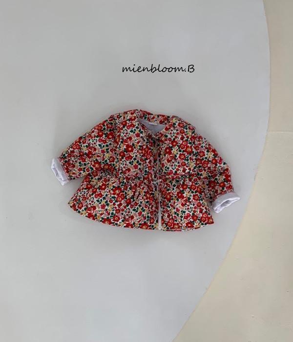 미앙 동백이자켓(꽃무늬)