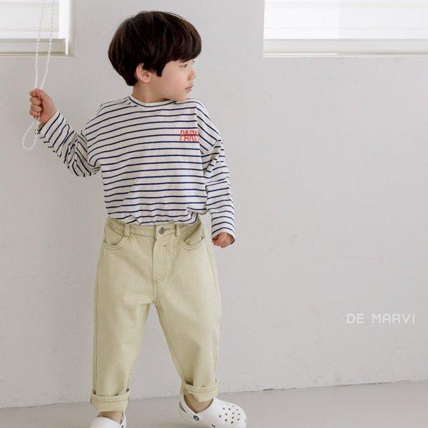 마르비KC 스프링면팬츠*XS~JXL*[아기/아동/여아/남아/5살/6살/심플한티/봄옷/북유럽풍아기옷/조카선물/봄신상]