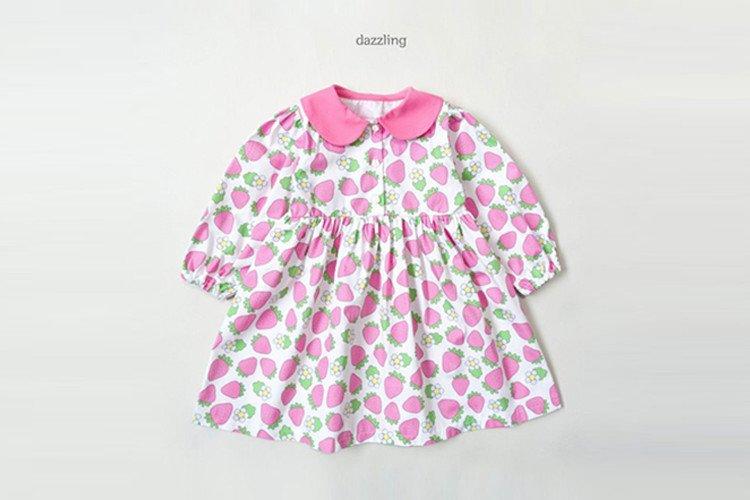 다즐링 딸기원피스