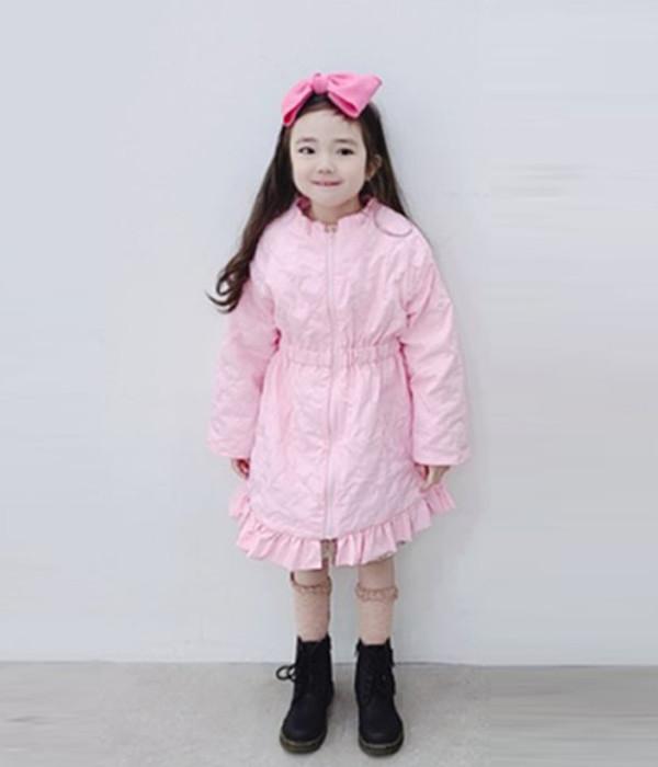쁘띠슈슈 벨루퀼팅점퍼(모델)
