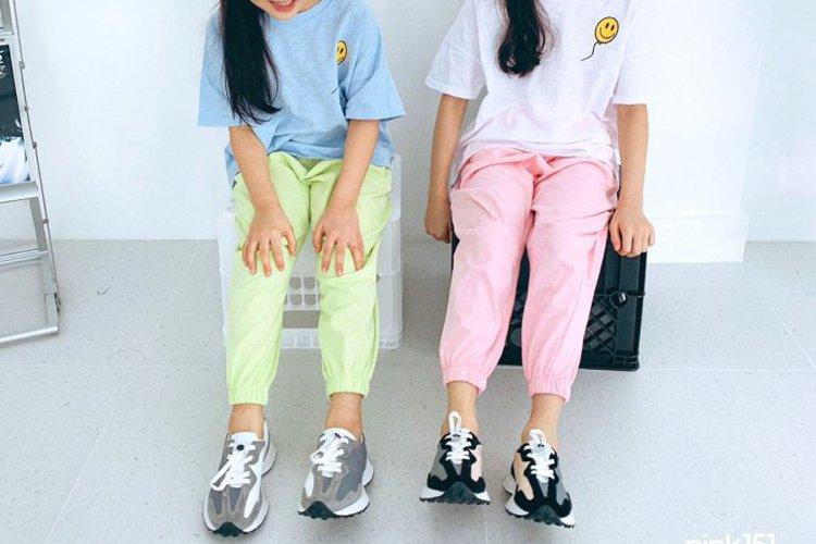 핑크151 스마일조거팬츠