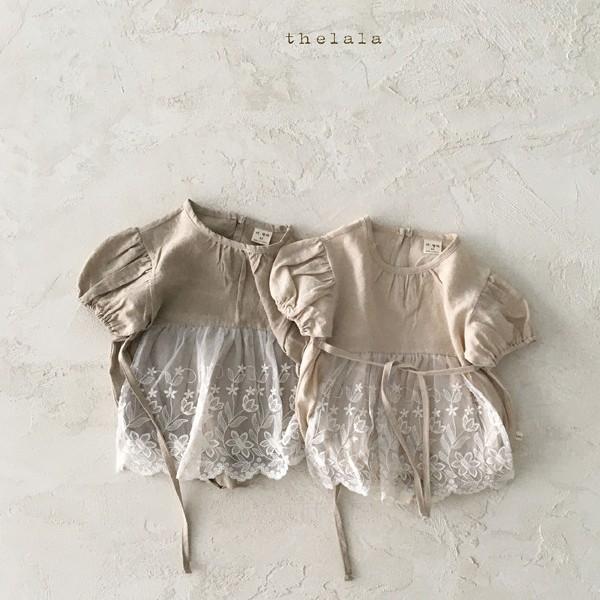 쿠잉키즈-베이비옷 - L에이프런슈트