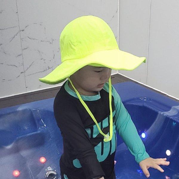 물놀이형광비치햇*유아(2~3세)~아동(4~6세)*