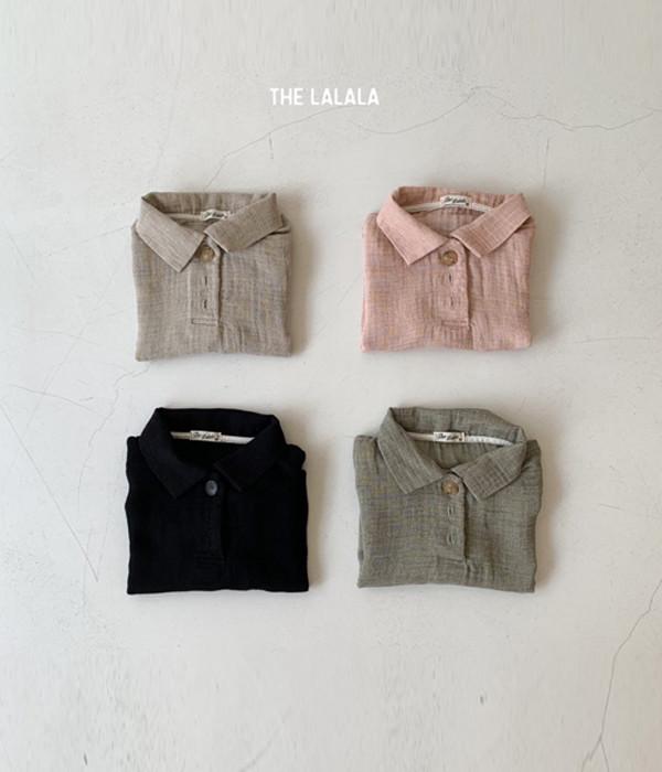 더라라라 이중지카라반팔셔츠