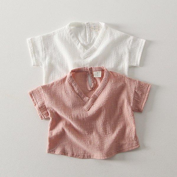 (바닥컷)밀크셔츠*XS~XL*