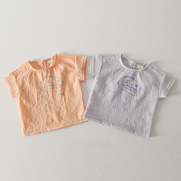 (바닥컷)꼬마셔츠*XS~XL*