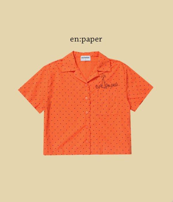 엔페이퍼 도트셔츠