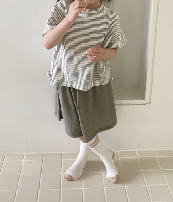 코튼하우스 골지쭉치마(모델)