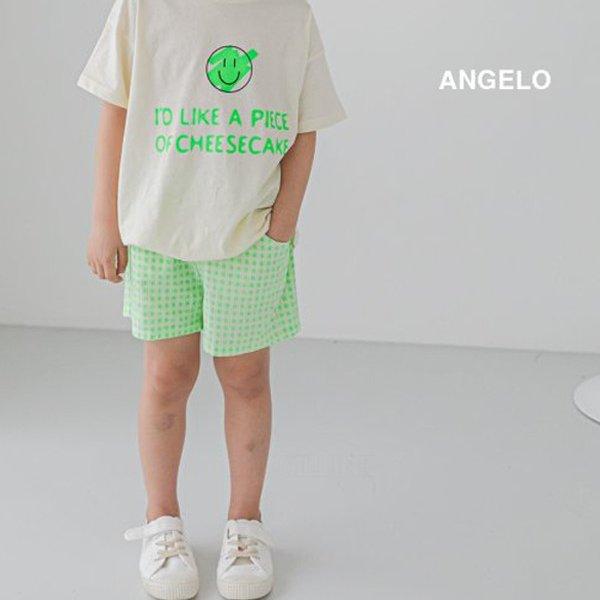 안젤로KC 형광체크바지-모델*5~17*