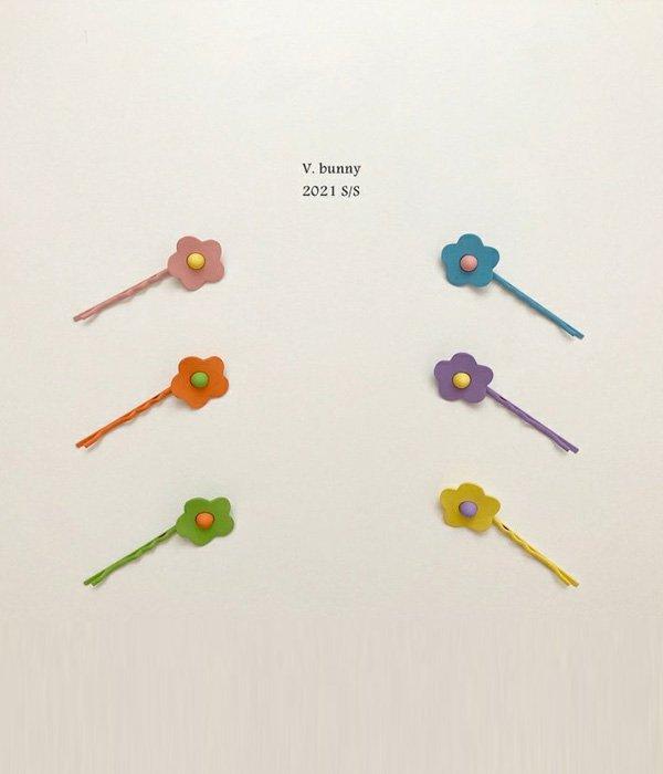 바닐라버니 꽃핀세트