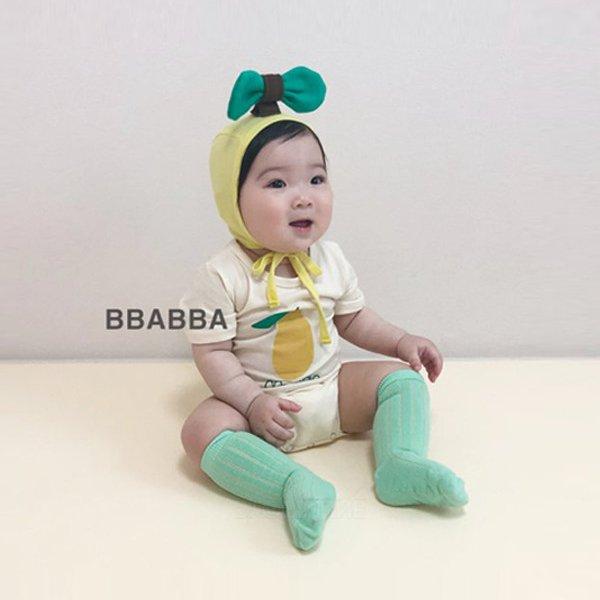 미니망고슈트-보넷세트*S(~9개월)~M(~18개월)*