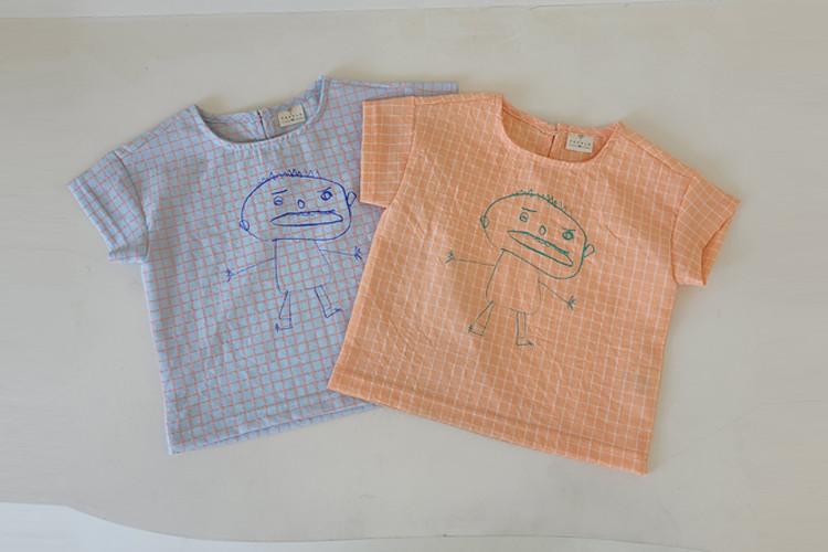 이플 꼬마셔츠