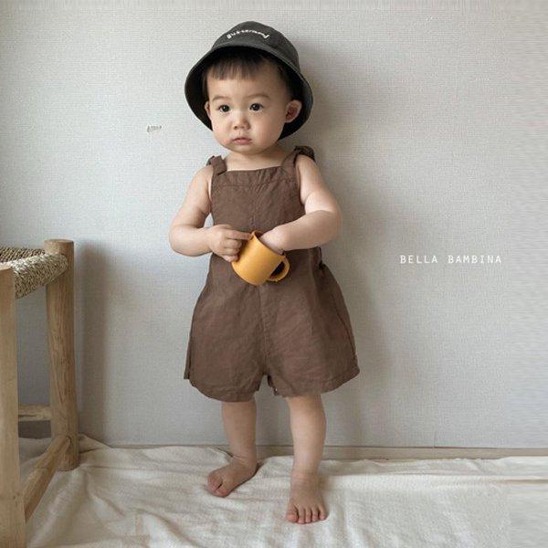 벨라밤비나KC 베베베이글멜빵슈트*6M~18M*