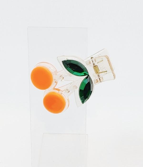 아이스티 앵두집게핀-10세트