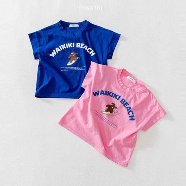 핑크151KC 서핑베어티*5~17*