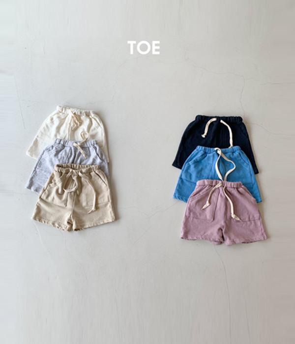 TOE 데이쮸리반바지21(세일)
