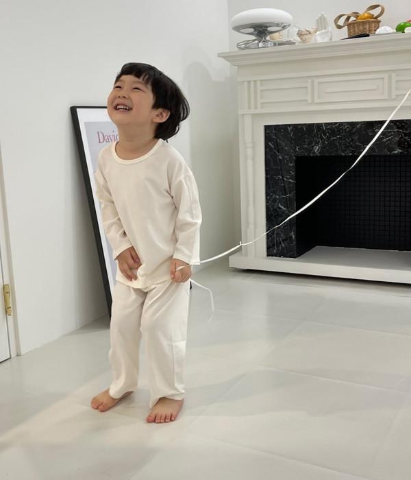라임앤블루 원픽실내복(모델컷)