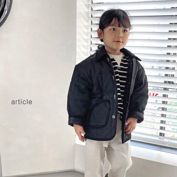 아티클KC 코스누빔점퍼(모델컷)*S~XL*