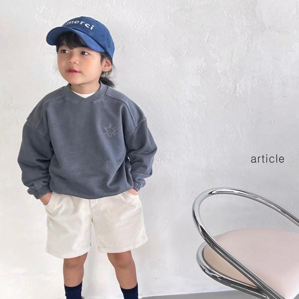 아티클KC 피그자수맨투맨티(모델컷)*S~XL*
