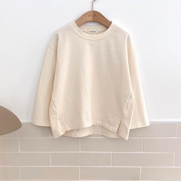 아티클KC 피치절개티셔츠(모델컷)*S~XL*