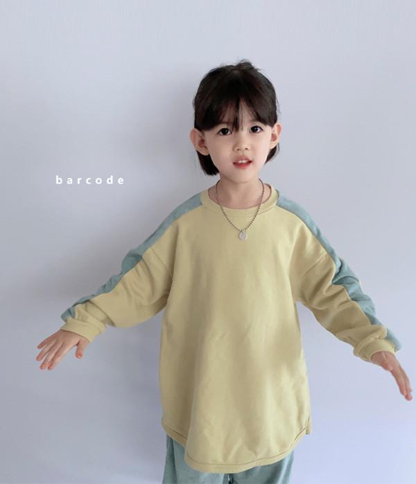 바코드 타올배색롱티상하(모델)