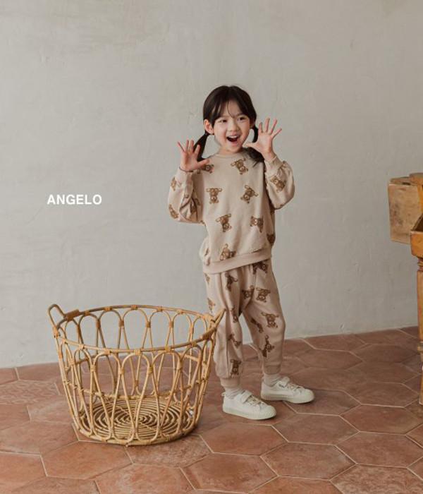 안젤로 테디베어상하세트-모델