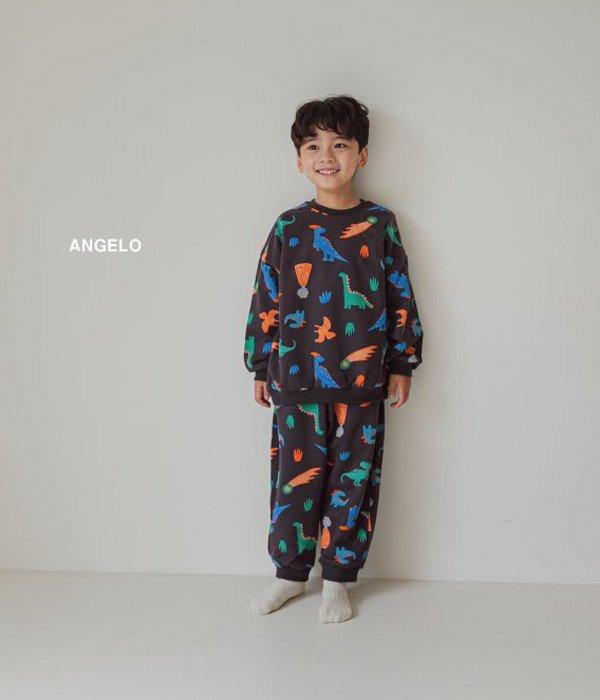안젤로 공룡상하세트-모델